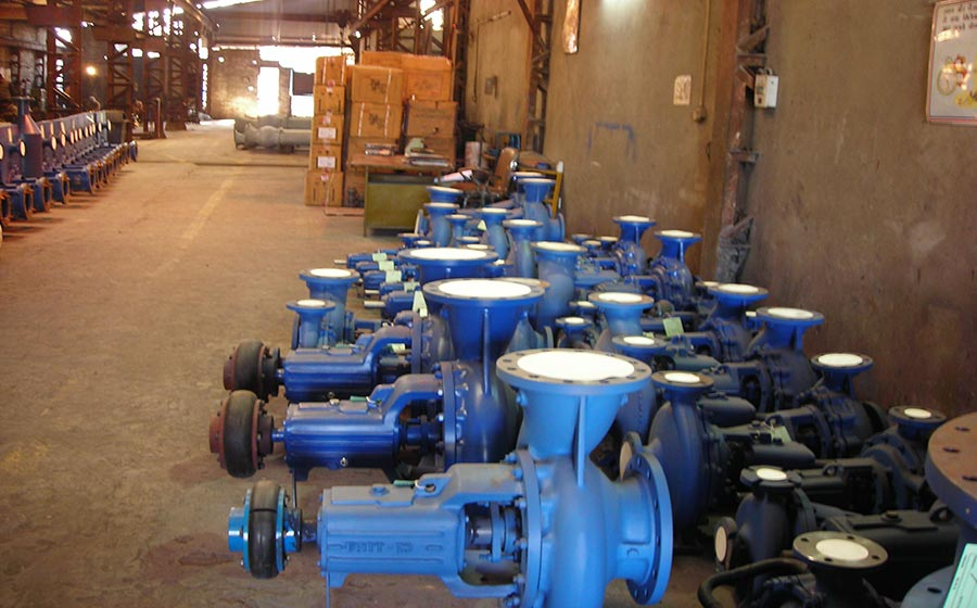 Erosion Occur in Industrial Pumps