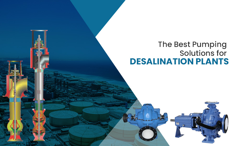 Pumps for desalination plants